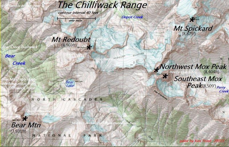 American Chilliwack Range