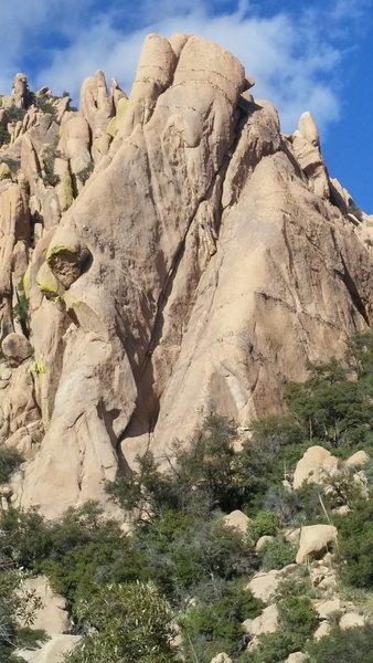 Rock Climbing Photo: ye
