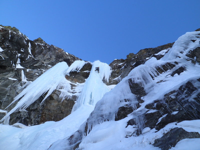 Rock Climbing Photo: Definitely no ice climbing in oregon...