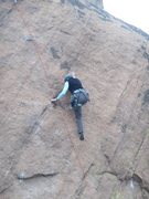 Rock Climbing Photo: Really enjoying the friction and xenoliths on Rhin...