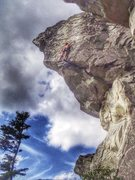 Rock Climbing Photo: cruz mclean on castaway 5.11+