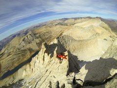 Rock Climbing Photo: north ridge