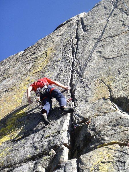 Rock Climbing Photo: manic
