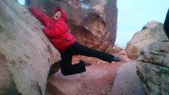 Rock Climbing Photo: WIND!!!