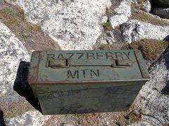 Rock Climbing Photo: Summit register.