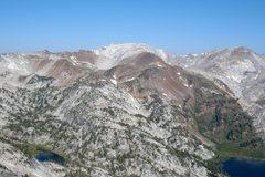 Rock Climbing Photo: Matterhorn Peak. Photo taken from Eagle Peak.