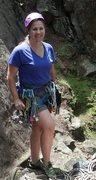 Rock Climbing Photo: First Lead