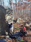 Rock Climbing Photo: Gunshot Arete.