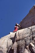 "Rock Climbing Photo: Urmas Franosch on the FA of ""Old Farts on Cra..."