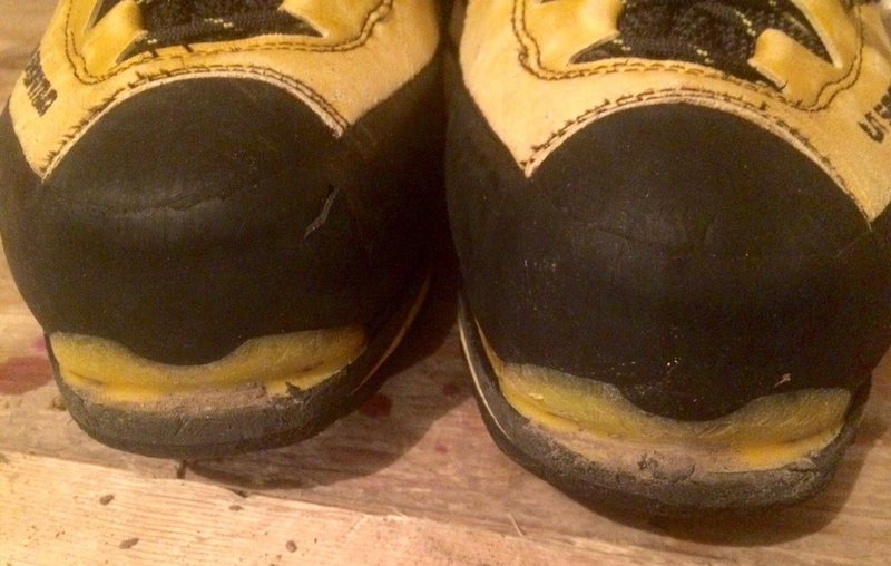 toe wear