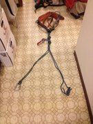 Rock Climbing Photo: Y rig on harness and with device ... You can also ...