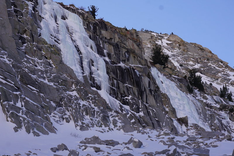 Main Wall and Chouinard Falls
