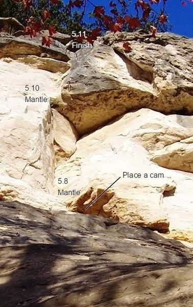 Rock Climbing Photo: Where do you finish?