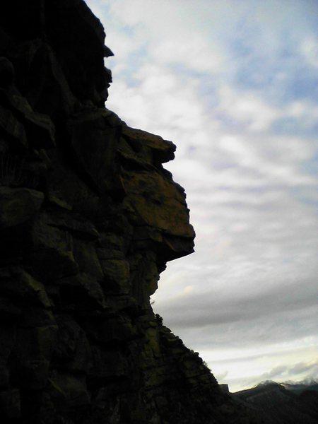 Rock Climbing Photo: Profile.