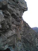Rock Climbing Photo: Closer.