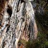 Easy living and beautiful tufa at the Las Animas wall