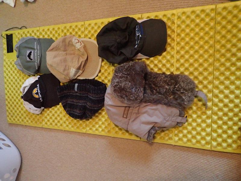 Rock Climbing Photo: hats