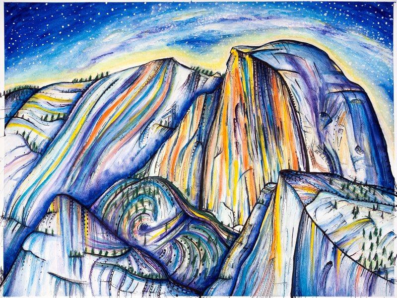Rock Climbing Photo: Yosemite print and original available.