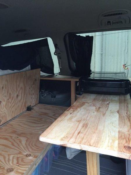 Table/Bench setup