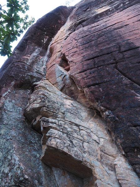Rock Climbing Photo: 河蟹