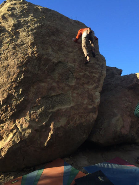 Rock Climbing Photo: Corner the Market