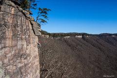 Rock Climbing Photo: Brad L on the send