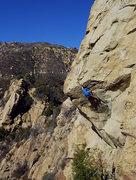 Rock Climbing Photo: The Nose on Gibraltar Rock above Santa Barbara.  A...