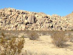 Rock Climbing Photo: The big boy
