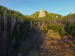 Rock Climbing Photo: On the walk in