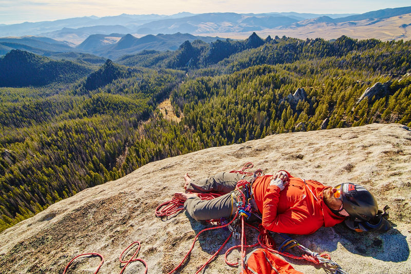 Rock Climbing Photo: Summit nappy naps