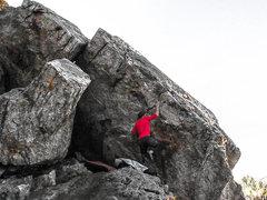 Rock Climbing Photo: The Seam