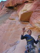 Rock Climbing Photo: Stoked for the p5 bombay