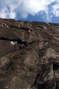 Rock Climbing Photo: Pitch 2, Canyons of Laurel, LK, NC.