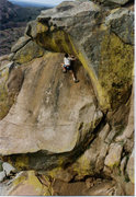 Rock Climbing Photo: On the NW side not sure what climb it is but an ob...