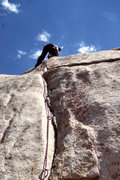 "Rock Climbing Photo: FA of ""Hidden Technology"" (5.11a), Demon..."