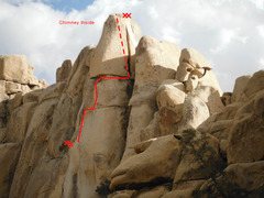 Rock Climbing Photo: Tower of Godliness - Original Route