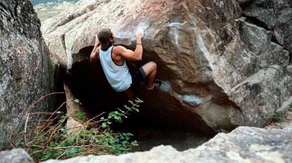 Rock Climbing Photo: Beachin' it.