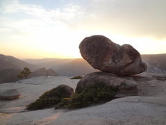 Rock Climbing Photo: Paying my respects on a peaceful evening solo hike...