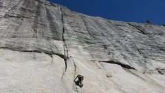 Rock Climbing Photo: Climbing in Tuolumne Meadows with John Durr.  This...