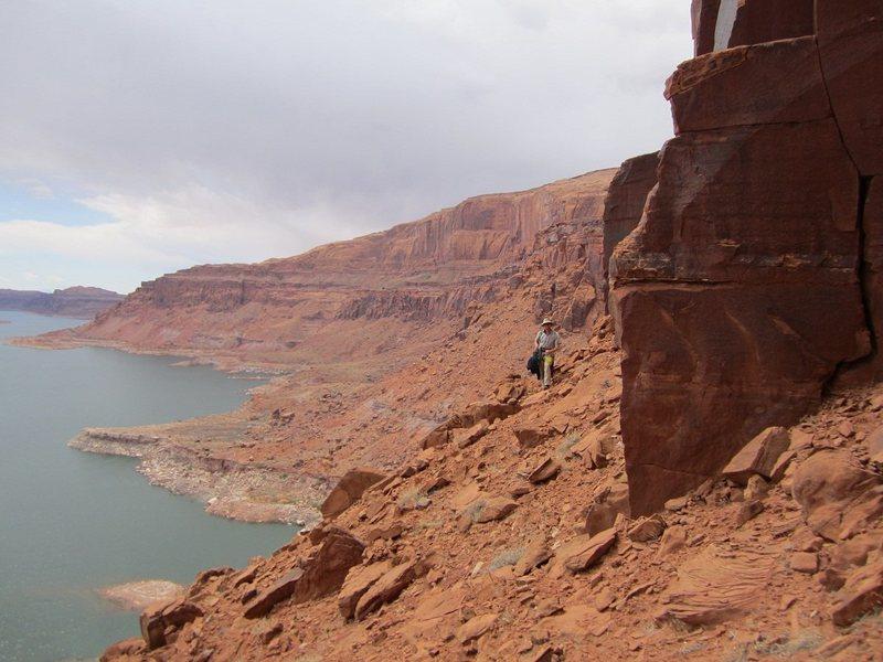Rock Climbing Photo: Powell