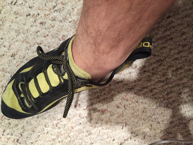 Too much room in the ankle