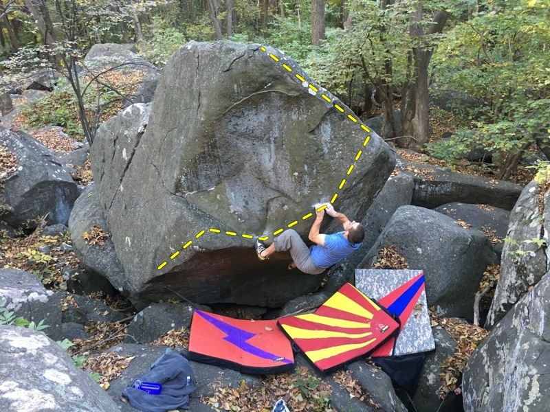 Rock Climbing Photo: The Cooperazzi boulder