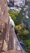 Rock Climbing Photo: Climbers on their way down from Dark Shadows -   A...