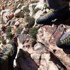 Shoe Pic. Birdland.  Red Rock Nevada.  November 2015.