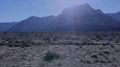 Rock Climbing Photo: Alien Donkey Invasion.  Red Rock Nevada.  November...