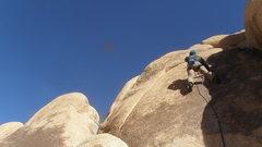Rock Climbing Photo: P.I. on N. S.T. B.