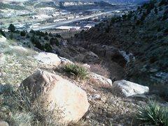 Rock Climbing Photo: Smelter Gulch.