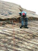 Rock Climbing Photo: Ben Williams ticking another box ...