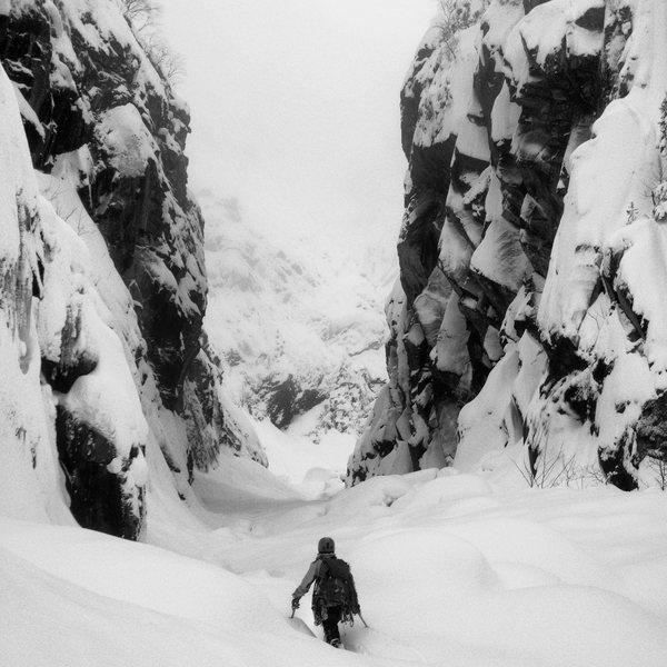 Kristian in Rjukan, Norway. February 2014