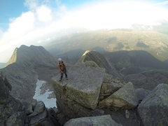 Rock Climbing Photo: Sara,Kolkjereryggen, Uskedalen, Norway. September ...